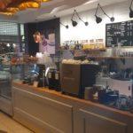 Реновация освещения в кафе